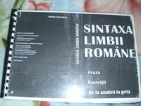Carte - Sintaxa limbii romane