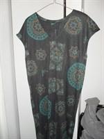 Rochie XXL din tricot imprimat