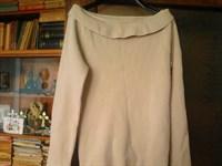 Pulover de culoare crem(dama)