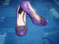 Pantofi mov nr 38