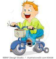 Bicicleta copii 4-7 ani rosie