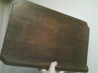 Suport din lemn pentru carte/caiet