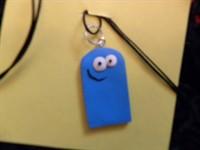 Medalion  Blue