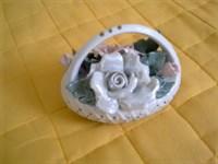 Bibelou - cosulet cu flori