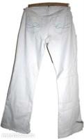 pantaloni albi esprit