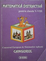 Matematica distractiva cls. V-VIII, Concursul CANGURUL