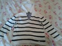 Bluza cu maneci lungi si gluga ZARA, copii 4-5 ani (110 cm)