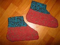 botosei tricotati din lana
