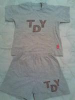 Pijama copii tricou + pantaloni scurti (3 ani)
