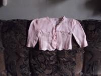 bluzita crosetata roz