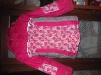 geaca roz fetite