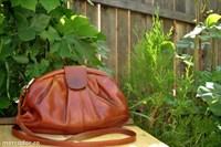 geanta vintage - piele naturala