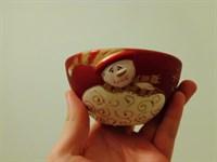 Bol din ceramica (pentru sarbatorile de iarna)