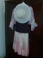 UNICAT! Set pentru ocazii: fusta dubla, bluza, M/38
