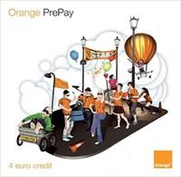 Cartelă SIM Orange cu număr şi 4 euro credit
