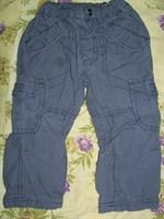 Pantaloni gri baietel 1-1.5 ani
