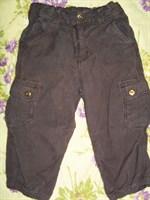 Pantaloni maro H&M 1-1.5 ani