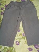 2 perechi pantaloni trening baietei 1-1.5 ani
