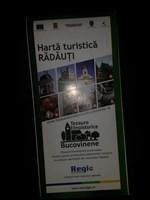 Harta turistica Radauti