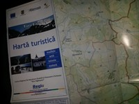 Harta turistica Tara Fagarasului