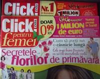 2 reviste Click pentru femei