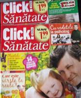 2 reviste Click sanatate
