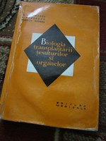 Carte Biologia transplantarii tesuturilor si organelor
