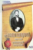 Dr. Ioan Mesota - Preliminarii biografice