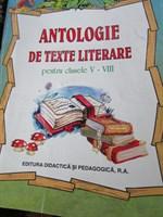 Antologie de texte literale pentru clasele V-VIII