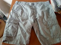 Pantaloni barbati Sergio Nesci 3/4 bleu-gri masura 52