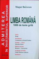 Limba romana - 1000 teste grila, de Mugur Burcescu