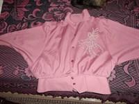 Bluza roz-mov
