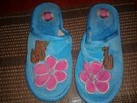 Papuci de casă albastri 2