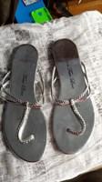 Papuci argintii - 40