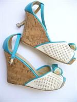 Sandale piele cu talpa ortopedica