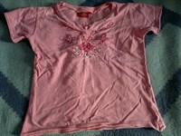 Tricou Roz Fetite