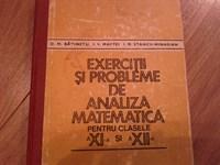 4318. Batinetu - Exercitii si probleme de analiza matematica pentru clasele XI si XII