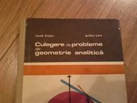 4319. Culegere de probleme de geometrie analitica