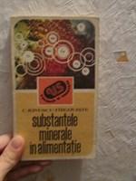 Substantele minerale in alimentatie