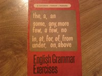 4416. English grammar exercises