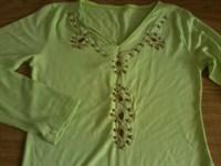 bluzita verde