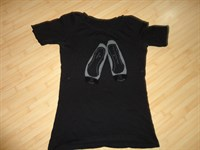 tricou de dama negru
