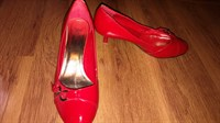 Pantofi lac, rosii, marime 40