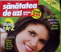 """revista """"Sanatatea de azi"""" - apr 2008"""