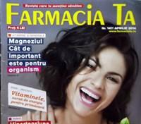 revista Farmacia ta, nr 147, apr 2014