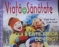 "revista ""Viata si Sanatate"", nr 11/2010"