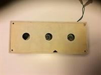 Orga de lumini - montaj electronic