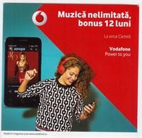 Cartela Vodafone sigilata
