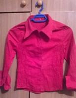 Camasa fetita rosie