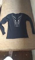 Bluza neagra nr M-L (?)